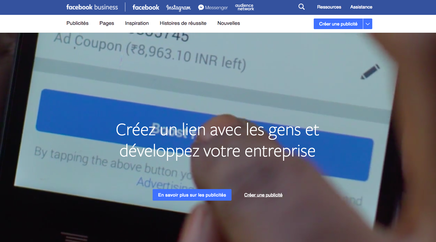 Facebook pour le marketing B2B ?